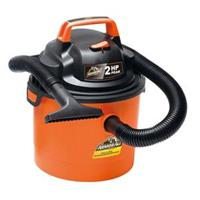 Armor All VOM205P 0901 Portable 2.5-Gallon Wet/Dry Vacuum Cleaner